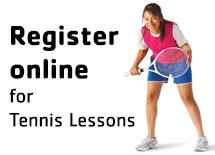 Register online for Tennis